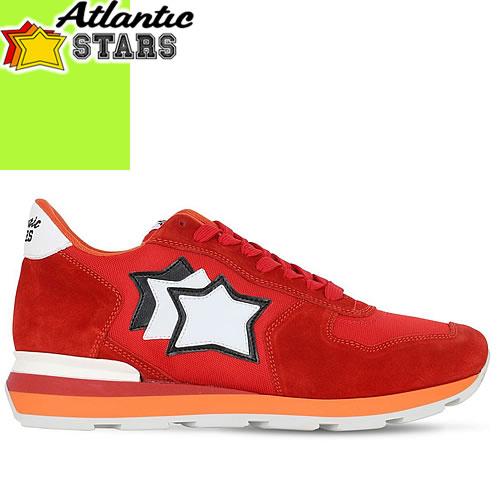 アトランティックスターズ スニーカー アンタレス 2019年春夏新作 メンズ ブランド 大きいサイズ 靴 おしゃれ カジュアル 赤 レッド Atlantic STARS ANTARES FR-85B