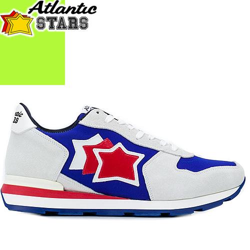 アトランティックスターズ スニーカー アンタレス メンズ ブランド 大きいサイズ 靴 おしゃれ カジュアル 白 ホワイト グレー Atlantic STARS ANTARES NEB-14B