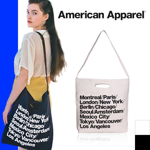 美国服饰海滩包大手提包大手提包帆布城包肩膀American Apparel[发送]