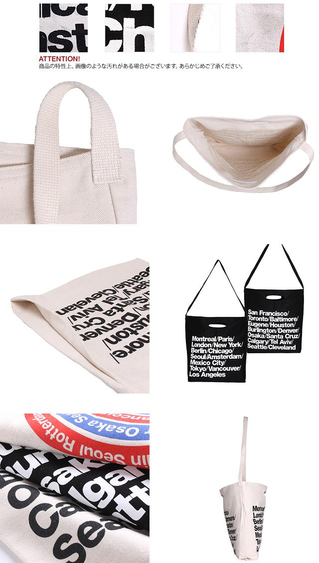 American apparel American Apparel tote bag city bag 2way shoulder
