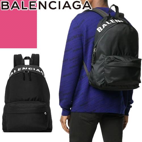 バレンシアガ BALENCIAGA バッグ リュック リュックサック バックパック レディース メンズ ユニセックス 2020年春夏新作 ウィール おしゃれ ブランド 黒 ブラック WHEEL BACKPACK S 565798 HPG1X 1090