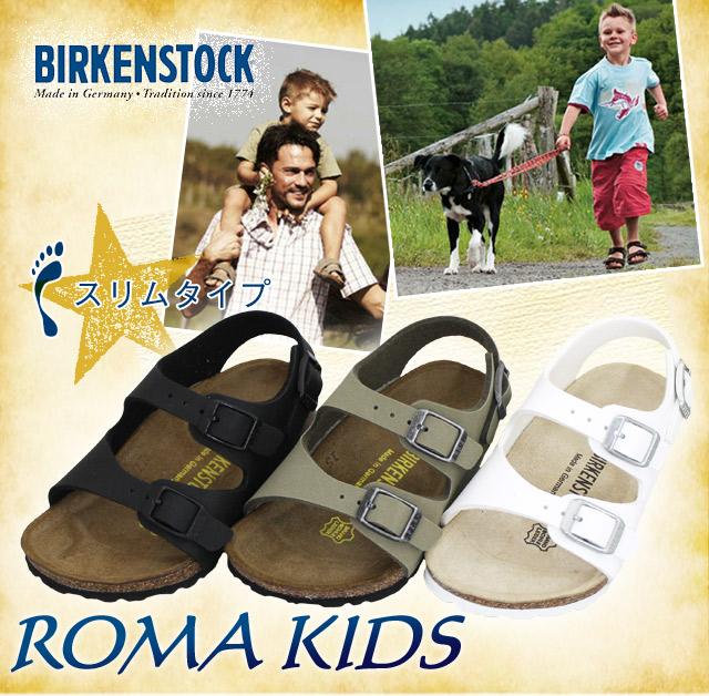 ビルケンシュトックキッズローマ BIRKENSTOCK ROMA KIDS