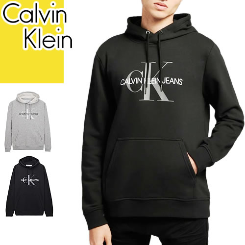カルバンクライン Calvin Klein パーカー スウェット トレーナー メンズ ビックロゴ 長袖 おしゃれ 大きいサイズ ブランド [S]