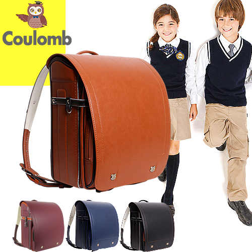 ランドセル 男の子 女の子 6年保証付き 黒 赤 茶 A4フラットファイル対応 ワンタッチロック 軽量 ブランド 人気 刺繍 カッコイイ 入学祝い クーロン Coulomb BLRX0013