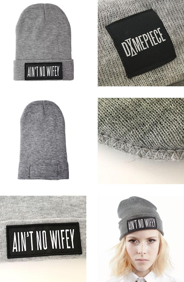 6a0ab6f236a Dime peace knit hat knit cap DIME PIECE Aint t No Wifey Beanie  shipment