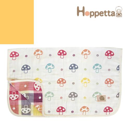 ホッペッタ ホッペタ Hoppetta 6重ガーゼベビーケット ベビーブランケット ブランケット ガーゼ 日本製 出産祝い 男の子 女の子 ギフト [S][名入れ可]