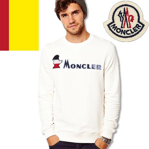 モンクレール トレーナー メンズ スウェット 2019年春夏新作 ブランド 綿100% 大きいサイズ MONCLER Monduck Sweater 80419-50-8098U [S]
