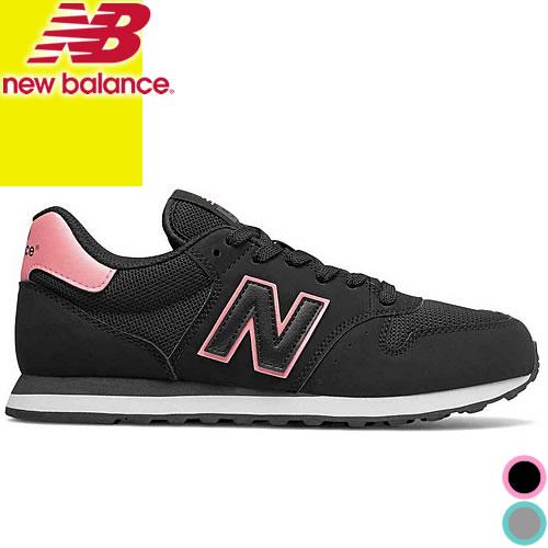 ニューバランス スニーカー レディース ウォーキングシューズ 黒 グレー ブラック 靴 カジュアル おしゃれ 通勤 NEW BALANCE GW500 574 好きにも