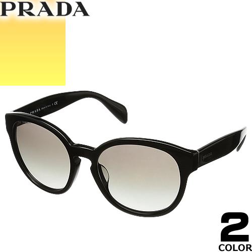 プラダ PRADA サングラス レディース メンズ ブランド 丸 UVカット 薄い 色 紫外線対策 ボストン 18RSF 2AU3D0 1AB07 [S]