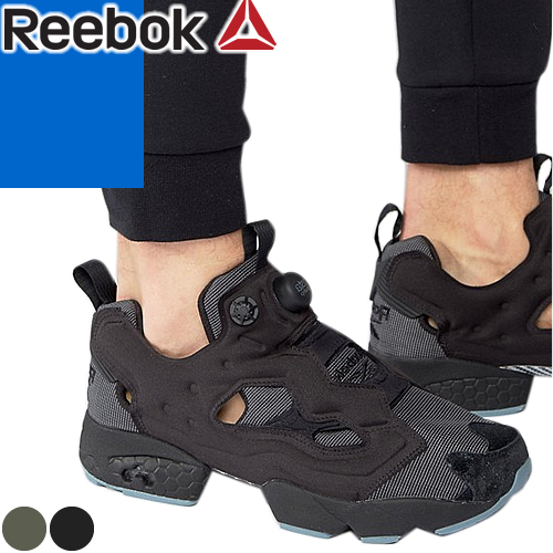 [最終SALE20,520円→15,990円] リーボック インスタ ポンプフューリー スニーカー メンズ 黒 ブラック カーキ Reebok INSTAPUMP FURY MTP BD1501 BD1502