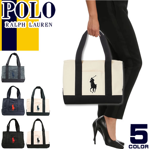 f91ee4a3914c Polo Ralph Lauren tote bag Polo Ralph Lauren big pony canvas tote bag  Canvas Tote Medium  S
