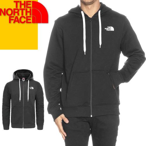 ノースフェイス パーカー ジップアップ スウェット メンズ レディース ブランド 大きめ おしゃれ 冬 ロゴ 裏起毛 アウトドア 黒 ブラック グレー THE NORTH FACE NF0A3MB4 [S]