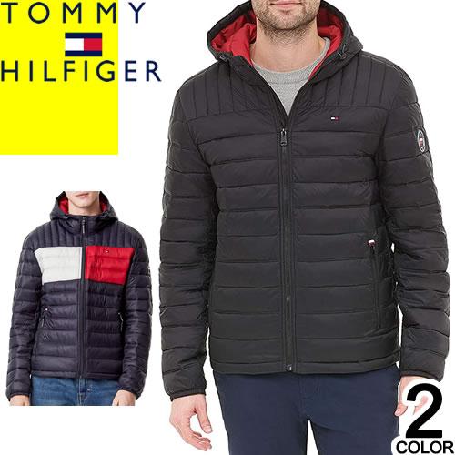 トミーヒルフィガー TOMMY HILFIGER ダウン ダウンジャケット ダウンコート メンズ 2018年秋冬新作 ブランド 撥水 防寒 軽量 大きいサイズ ブラック グレー 黒