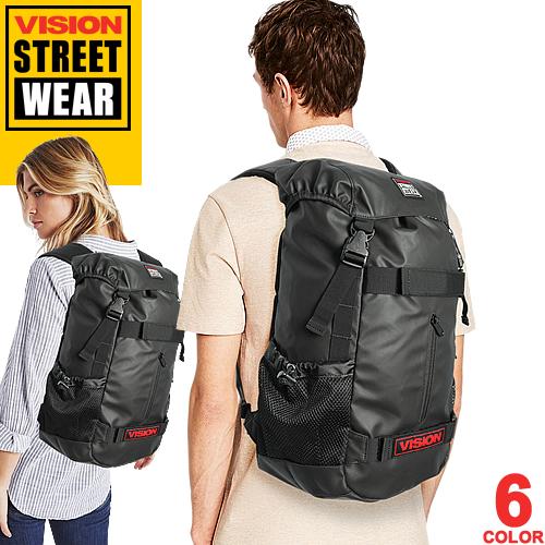 [最終SALE] ヴィジョン ストリート ウェア VISION STREET WEAR VSPC502N VSBL502N ビジョン バックパック リュック 通学 軽い 大容量 メンズ レディース 黒 ミリタリー