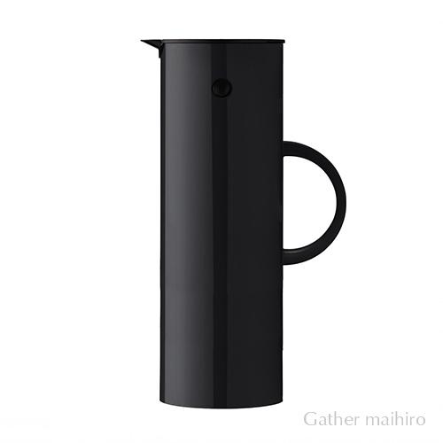 ステルトン Steltonクラッシック バキューム ジャグ 1L ブラックStelton CLASSIC Vacuum jug white魔法瓶 ポット 保温 保冷 北欧