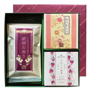 ファッション通販 三国屋善五郎 毎日激安特売で 営業中です 煎茶とフルーツ麦茶のギフトセット