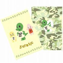 高級品 福井県のPR戦隊 アイテム勢ぞろい Juratic ダブルポケットクリアファイル