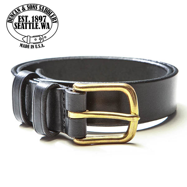 American DUNCAN & SONS SADDLERY classic saddle leather belts mens
