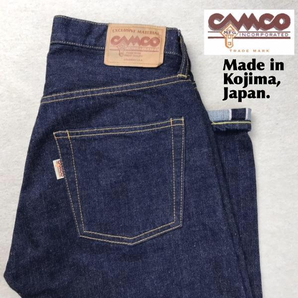 送料無料 CAMCO【カムコ】5ポケット デニム ジーンズ パンツ メンズ(男性用)【smtb-m】