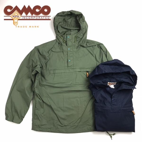 送料無料 CAMCO【カムコ】アノラック コットン プルオーバー パーカー メンズ(男性用)【smtb-m】