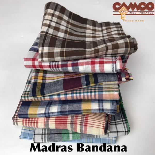 CAMCO【カムコ】マドラス バンダナ メンズ レディース (男女兼用)