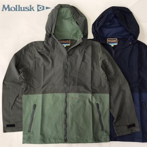 送料無料 MOLLUSK【モラスク】フード付き ウインドブレーカー メンズ(男性用)【smtb-m】
