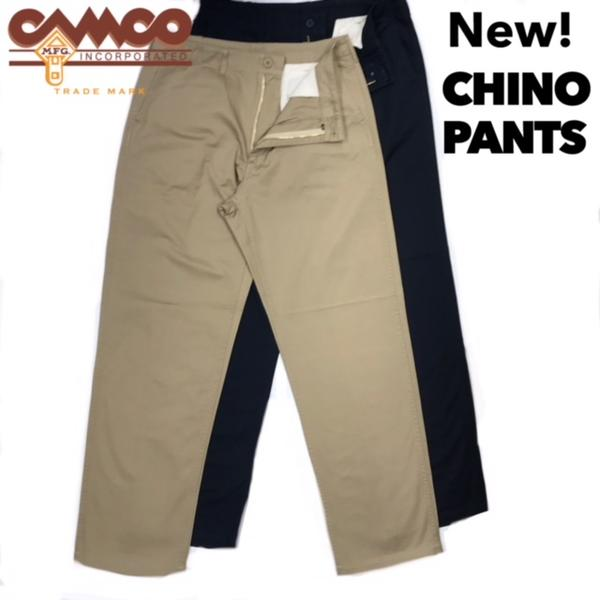 送料無料 CAMCO【カムコ】CHINO PANTS チノパンツ ツイル メンズ(男性用)【smtb-m】