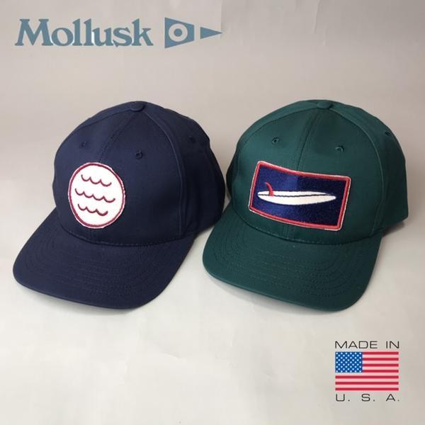 アメリカ製 送料無料 MOLLUSK【モラスク】コットン ベースボールキャップ 帽子 メンズ(男性用)【smtb-m】