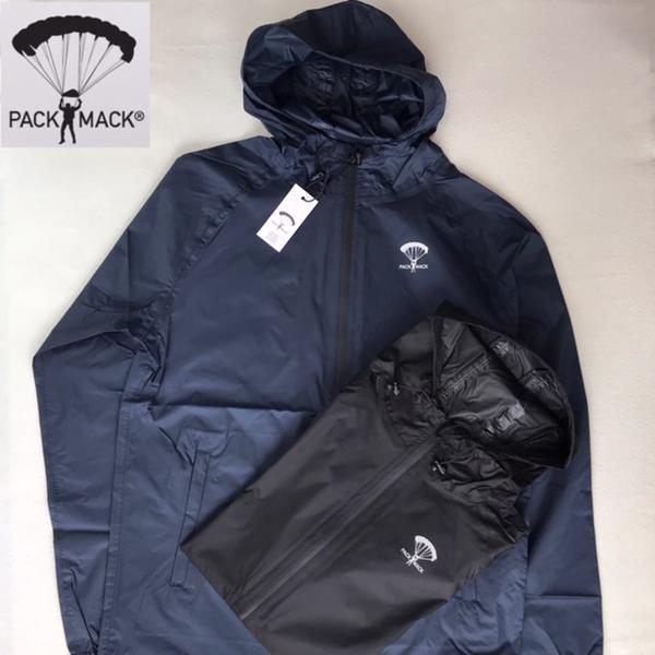 送料無料 PACK MACK【パックマック】ZIP JACKET ジップ フードジャケット レインジャケット メンズ(男性用)【smtb-m】