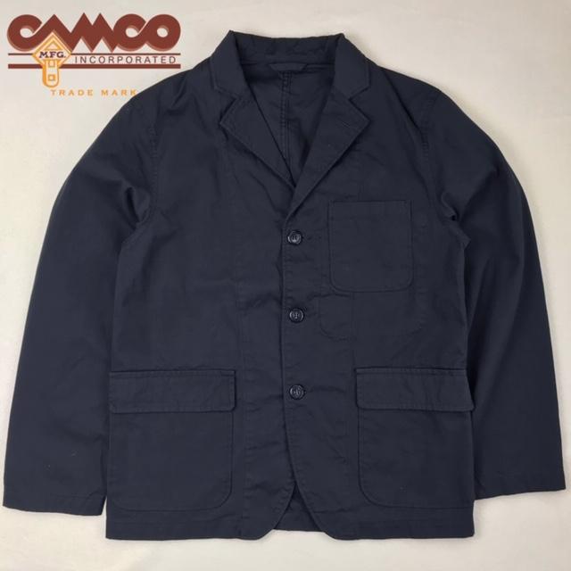 送料無料 CAMCO【カムコ】3 BUTTON JAC コットン テーラード ジャケット メンズ(男性用)【smtb-m】
