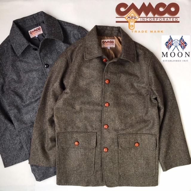 メンズ(男性用)【smtb-m】 COAT ウール カーコート 送料無料 CAMCO【カムコ】CAR