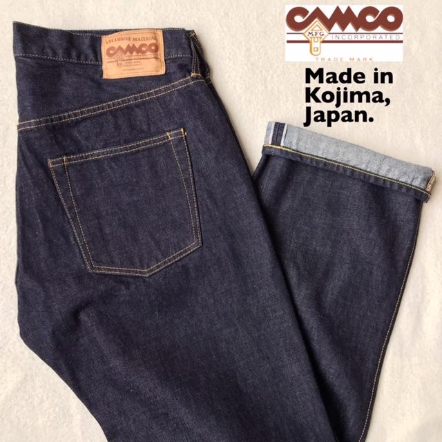 送料無料 CAMCO【カムコ】5PKT DENIM JEANS 5ポケット デニム ジーンズ パンツ メンズ(男性用)【smtb-m】