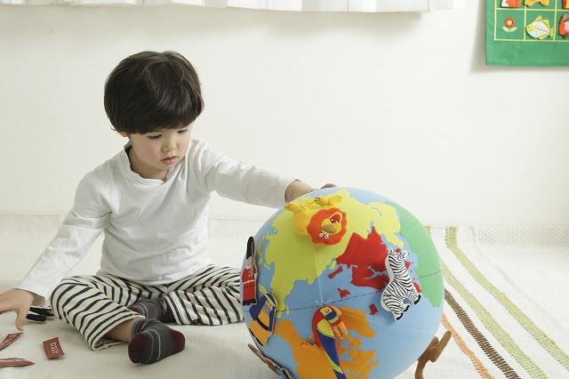 ★送料無料!★ラッピング可!『コロコロ地球儀』【Mini world globe】