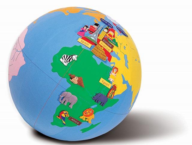 ★送料無料!★『ゴロリン地球儀』【Giant world globe】