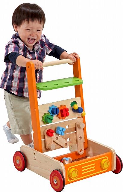 【送料無料】【ラッピング可!】カーペンターウォーカー【木製 知育玩具】【木のおもちゃ】