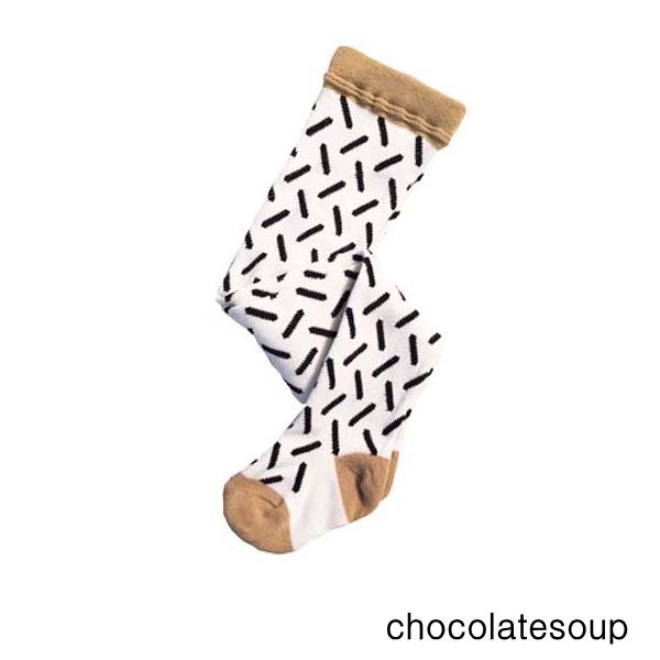 chocolatesoup チョコレートスープ キッズタイツ 男の子 女の子 GEOMETRY TIGHTS STICK S L 激安通販販売 4-6Y 最新号掲載アイテム 0-1Y 子供服 M 2-3Y
