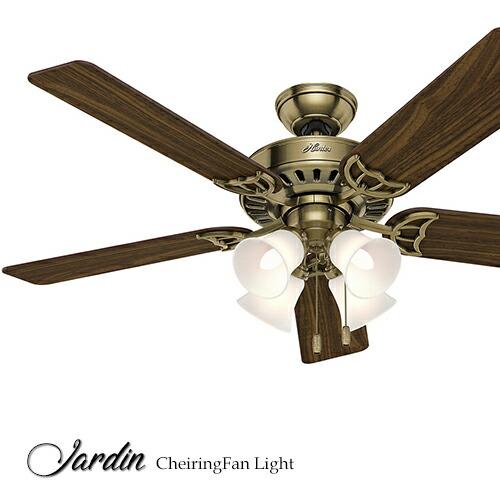 シーリングファン ジャルダンJardinAT シーリングファンライト ライト ファン 照明 LED おしゃれ 天井照明 省エネ