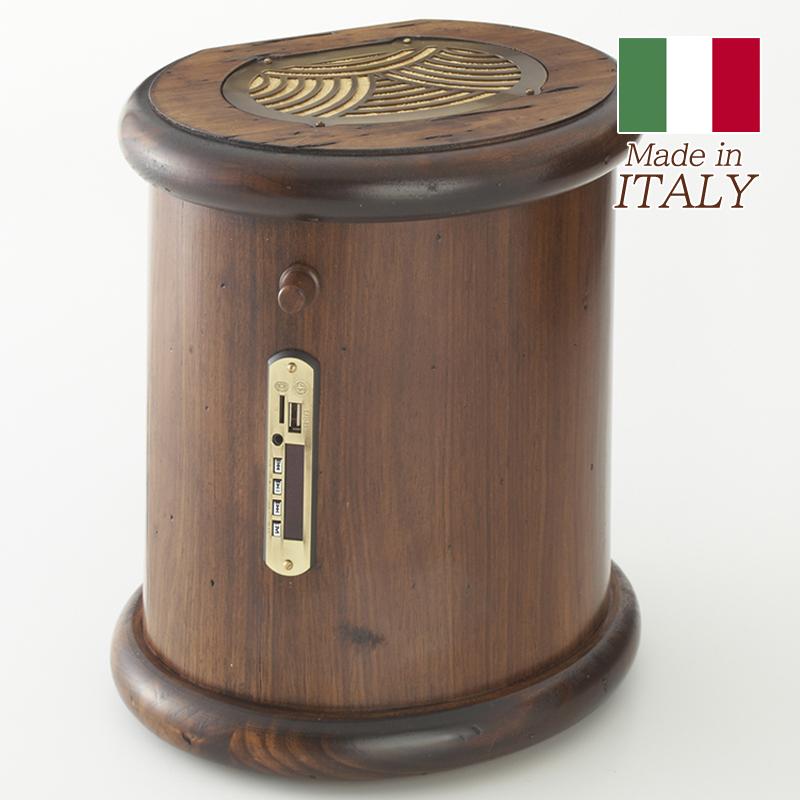カパーニ CAPANNI ステレオスピーカー/スピーカー リモコン付き 高級 おしゃれ アンティーク スタイル インテリア ロココ調 木製 イタリア製 輸入家具 ヨーロピアン