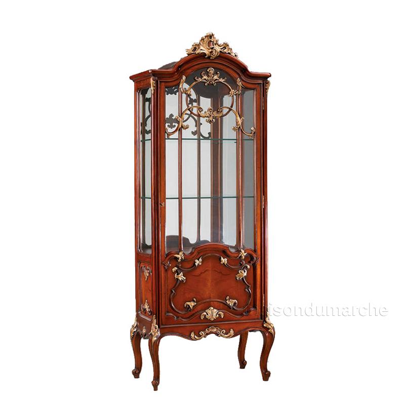 キャビネット (食器棚 飾り棚) 幅79cm / ジャンセン