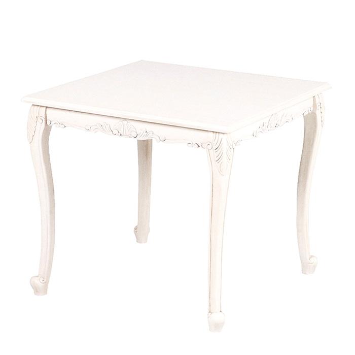 スクエアダイニングテーブル 幅80cm/ ヴィオレッタ