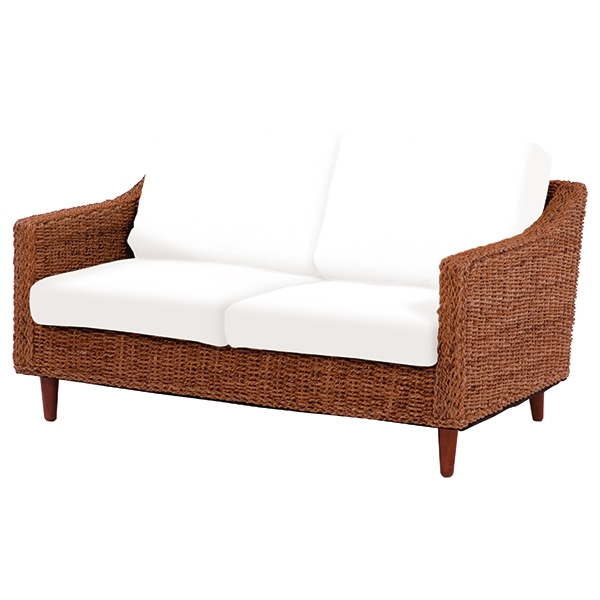 ソファー(本体のみ) 幅120cm / グランツ アジアンテイスト チェア 椅子 リゾート 天然素材 アバカ