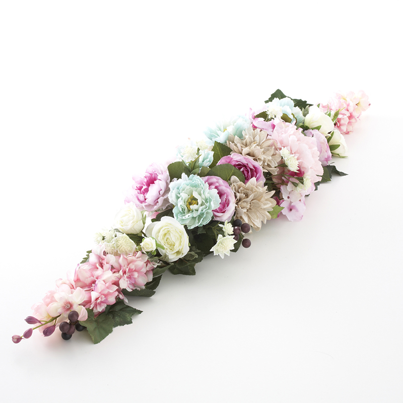 パステルカラーガーランド 幅120cm / 花 造花 フラワー フラワーアレンジメント きれい