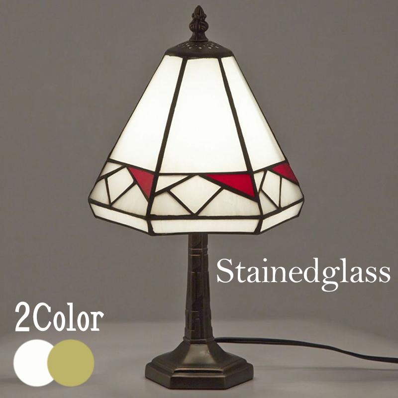 [超ポイント10倍]ステンドグラス テーブルランプA/ステンドガラス 40W白熱電球付属 照明 電球付属 テーブルスタンド スタンドランプ ランプ ライト 寝室 テーブル デスク アンティーク調 おしゃれ きれい 新築祝い