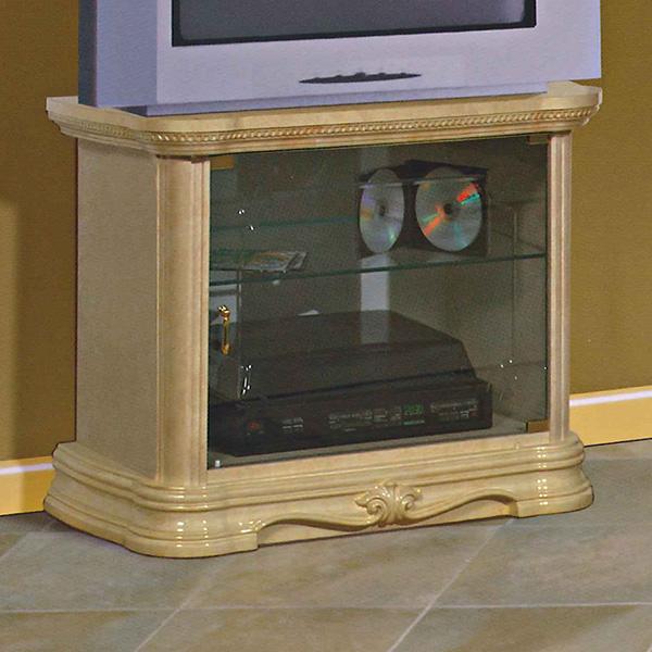 [送料無料] サルタレッリ アマルフィスモール テレビ台 (テレビボード) アイボリー 幅79cm 白家具 白 ロココ おしゃれ アンティーク デザイン