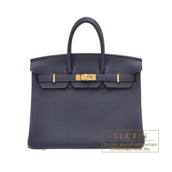 『2年保証』 エルメス leather Gold バーキン25 ブルーニュイ bag トゴ ゴールド金具 hardware HERMES Birkin bag 25 Blue nuit Togo leather Gold hardware, インテリア雑貨 jam store:362bd307 --- agrohub.redlab.site