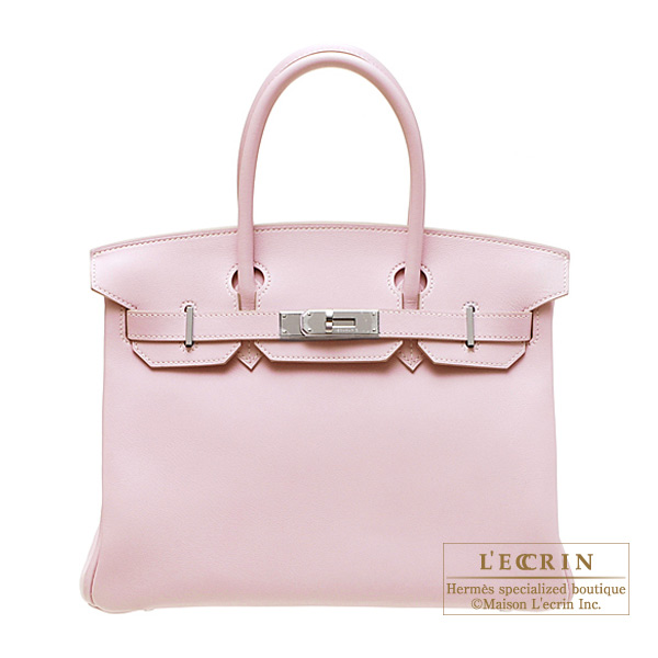 3ca7631be78a Lecrin Boutique Tokyo  Hermes Birkin bag 30 Rose dragee Swift ...