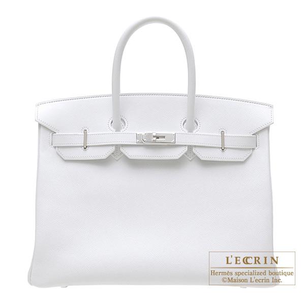 245494f68d Lecrin Boutique Tokyo  Hermes Birkin bag 35 White Epsom leather ...