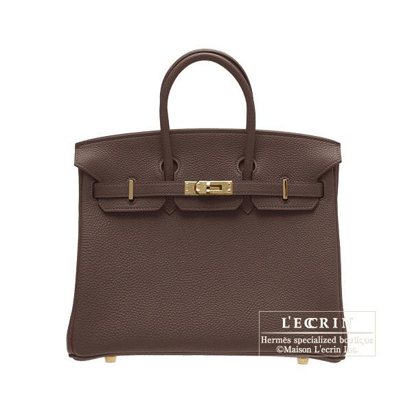 9b506effe3 Lecrin Boutique Tokyo  Hermes Birkin bag 25 Chocolat Togo leather ...