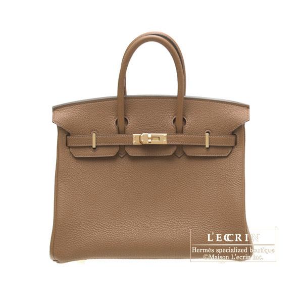 史上最も激安 エルメス バーキン25 アルザン トゴ ゴールド金具 HERMES Birkin bag 25 Alezan Togo leather Gold hardware, 浅草満願堂 fa685cc0