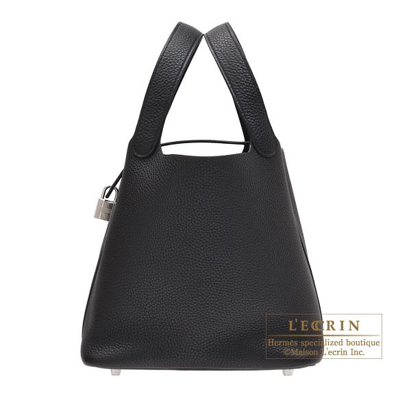 980eb558a78e Lecrin Boutique Tokyo  Hermes Picotin Lock bag MM Black Clemence ...